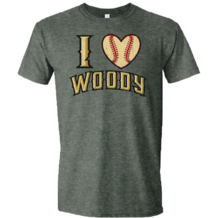 I Heart Woody Distressed